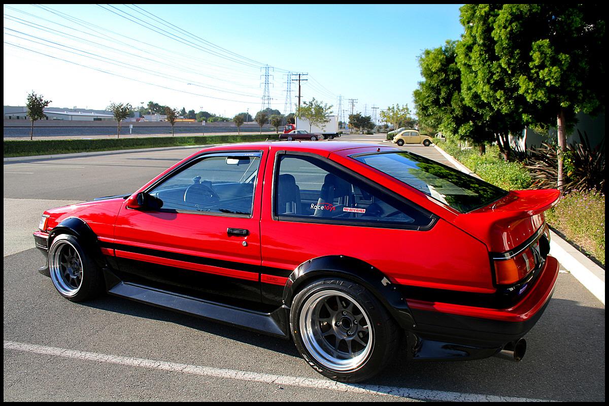 "1985 Toyota Corolla AE86 ""Flared Levin"" for sale - NASIOC"