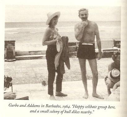 1964, with Greta Garbo