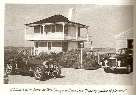Addamss home in Westhampton Beach