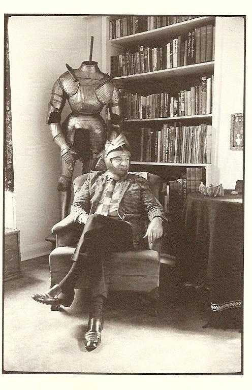 Another photo of Addams and his armor