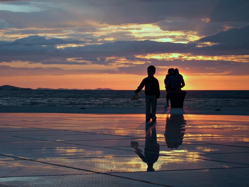 Zadar - Riva Sunset 1