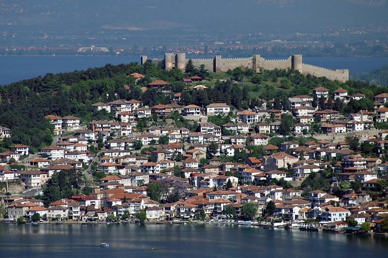 Ohrid and Tsar Samoils Fortress