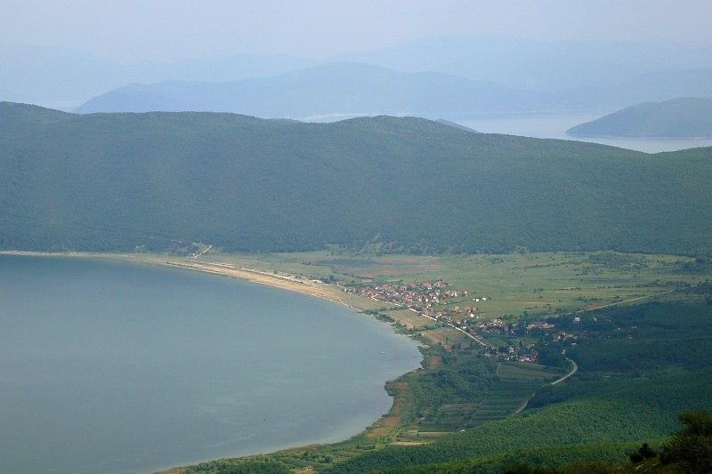 Prespa Lake, from Galičica