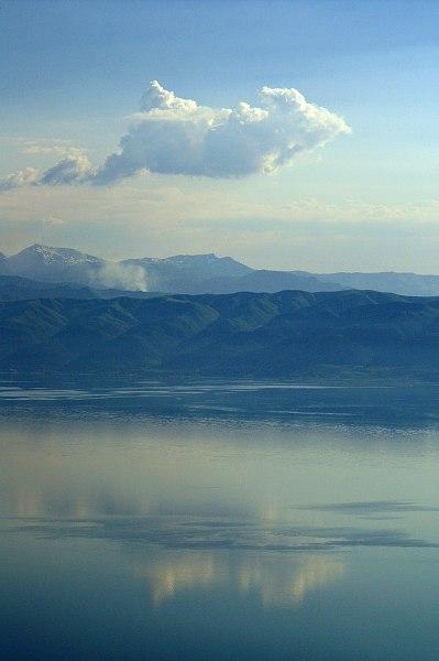 Lake Ohrid, from Galičica