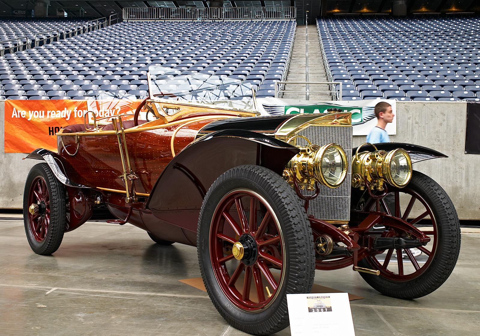 Mercedes 1911 90HP Labourdette Skiff 01 photo - Artichoke