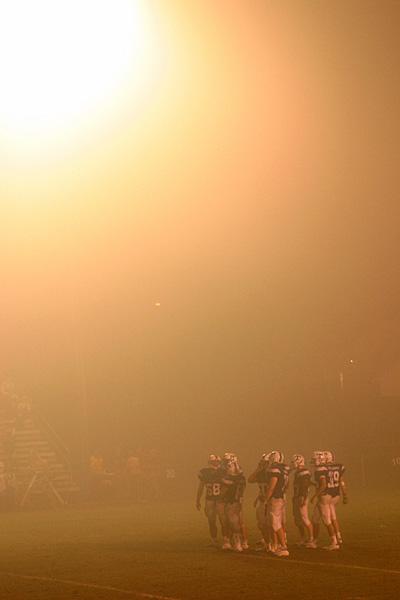 Football In the Fog