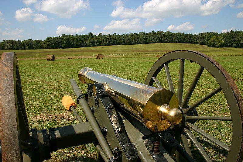 Brass Cannon at Chickamauga