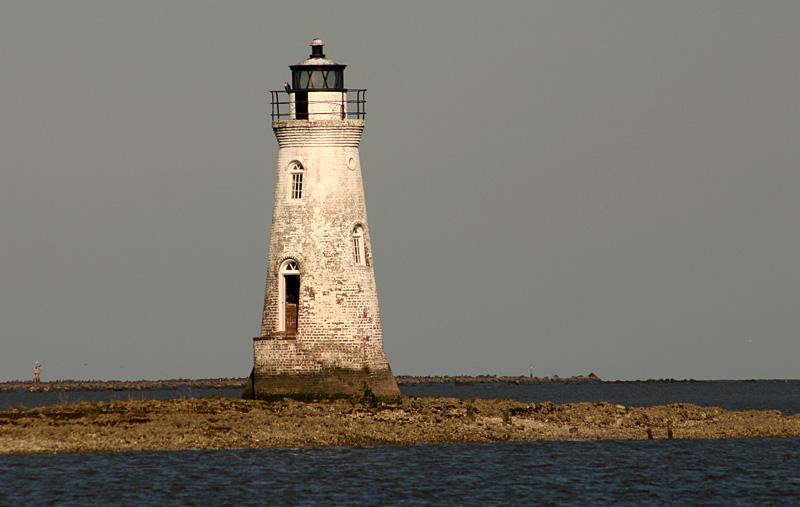 Cockspur Lighthouse, Tybee Island, Georgia