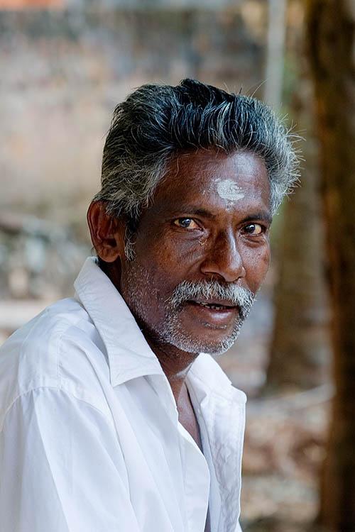 Man at Hindu Festival