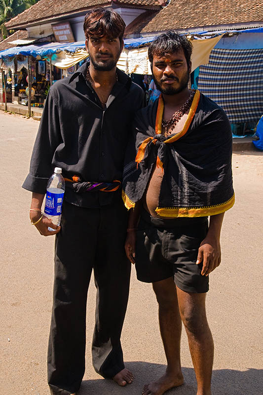 Two Pilgrims, Sri Padmanabha Swamy Temple