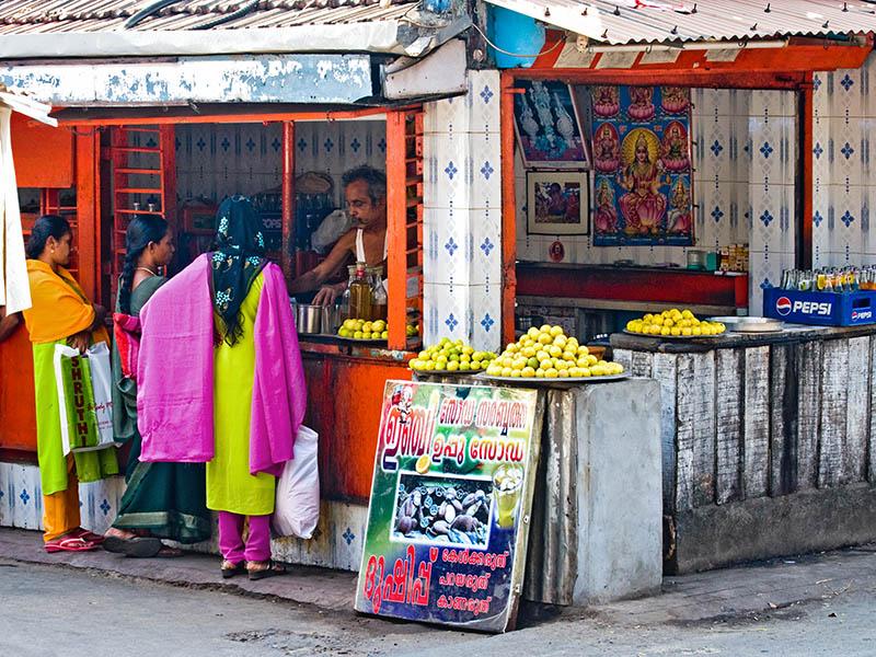 Corner Vendor, Kochi