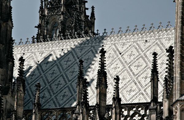 Prague: St Vitus Roof Detail
