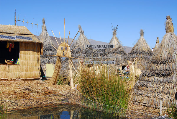 Kamisaraki Inn - a lodge on the floating islands