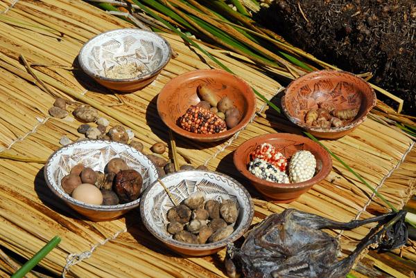 Native foods, Lake Titicaca