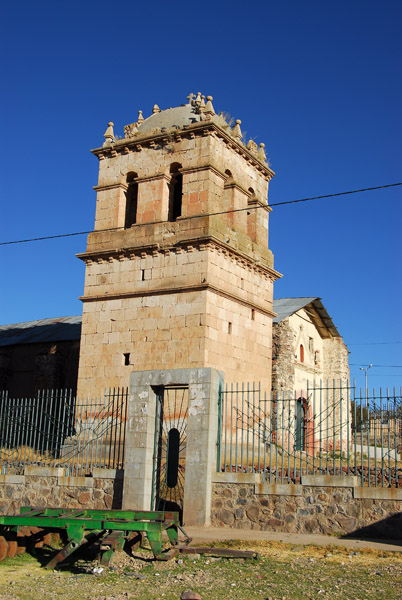 Church of San Andres, Atuncolla, Peru
