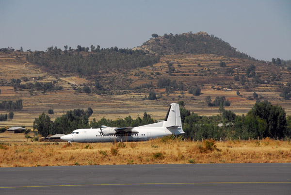 To save the tortuous 2 day drive to Lalibela we chose the 45 minute flight