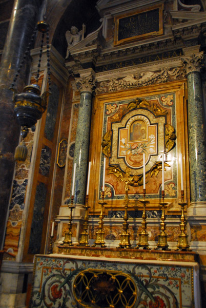 Altar of Our Lady of Succor (12th C.) St. Peters Basilica