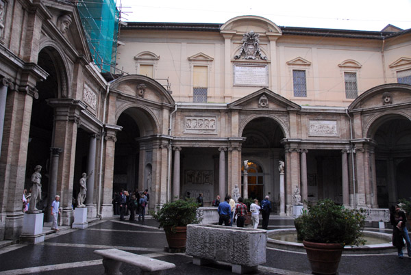 Cortile ottagonale del Belvedere, Museo Pio-Clementino, Vatican Museum