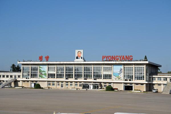 Sunan International Airport Fnj Zkpy 24 Km North Of Pyongyang