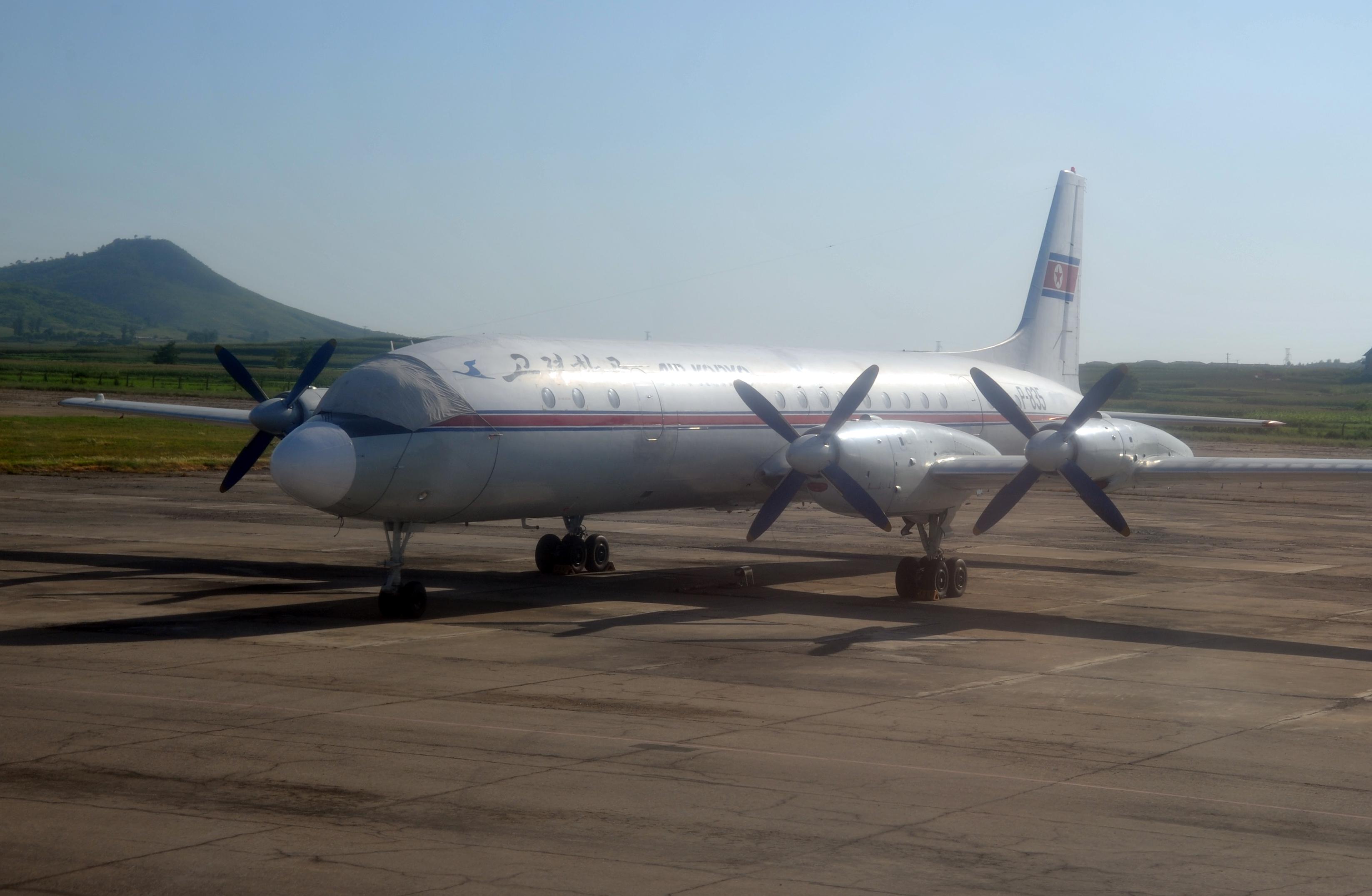 Air Koryo Ilyushin Il 18 P 835 Passenger Version Pyongyang Fnj