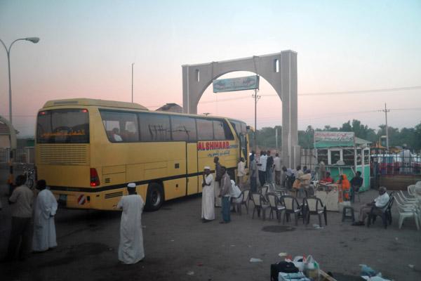 Departing Port Sudan for the bus ride to Kassala - around 600 km