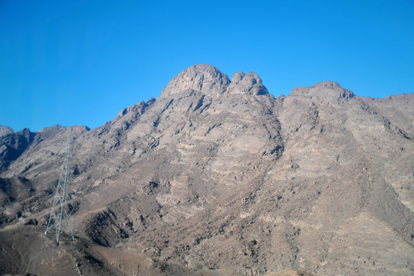 Passing through the Red Sea Hills on the road between Suakin and Sinkat