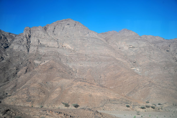 Driving through the Red Sea Hills southwest of Suakin