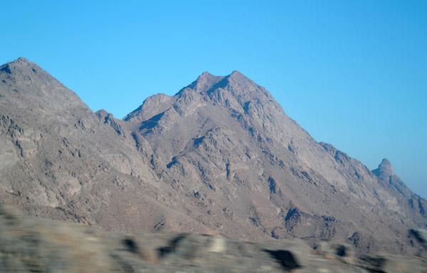 Id call them mountains - the Red Sea Hills