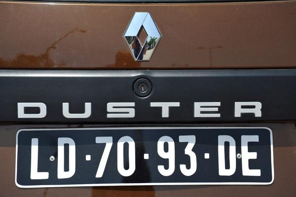 Angolan license plate