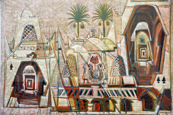 Contemporary Libyan art, Museum of Libya