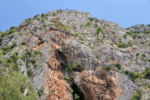 Mountains overlooking Blagaj