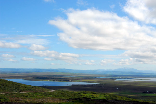Laugarvatn and Mount Hekla in the distance