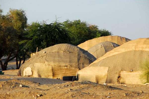 Nomad tents sent up on the edge of Timbuktu (Tombouctou)