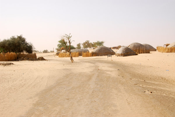 The road leading out of Timbuktu - Taoudenni, in the far north of Mali - 740km