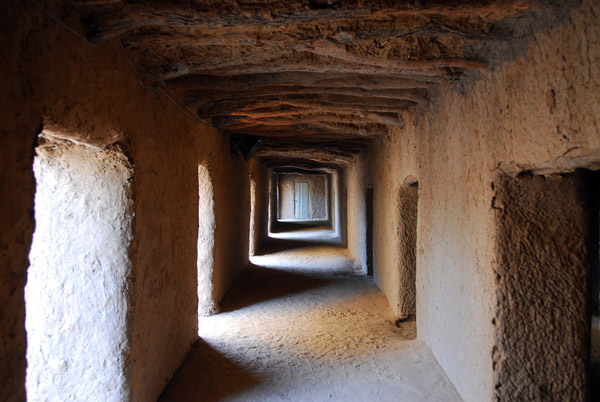 Inside the mosque of the Tomb of Askia, Gao, Mali