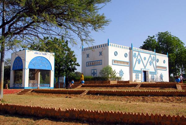 Arbre du Ténéré pavillon, Musée Nationale du Niger, Niamey