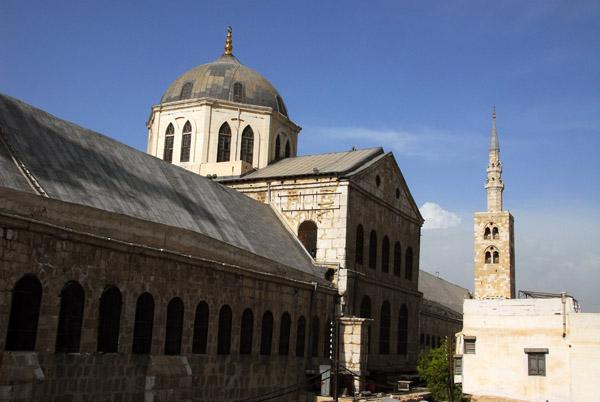 Southern façade of the Umayyad Mosque, Damascus photo