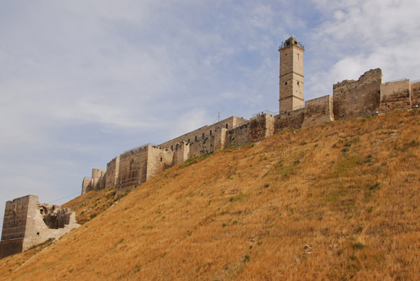 Aleppo Citadel - first pass while looking for a hotel