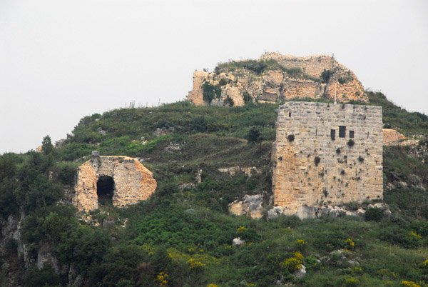 I visited the main Syrian crusader castles from north to south, a good choice as each subsequent castle is more impressive