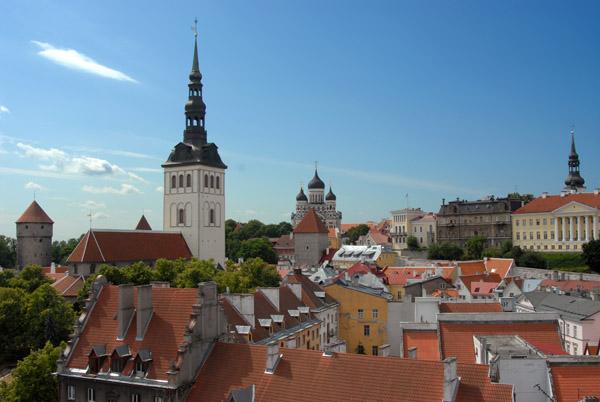 St. Nicholas Church, Nevsky Cathedral & Toompea Hill, Tallinn