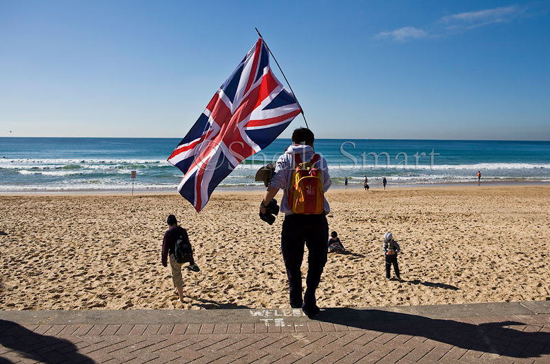 Union flag at Manly