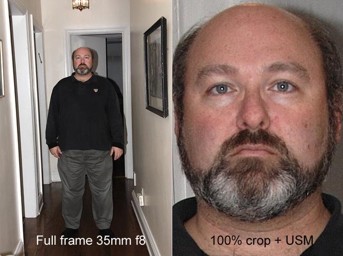 Sharpness for Full Length Portraits