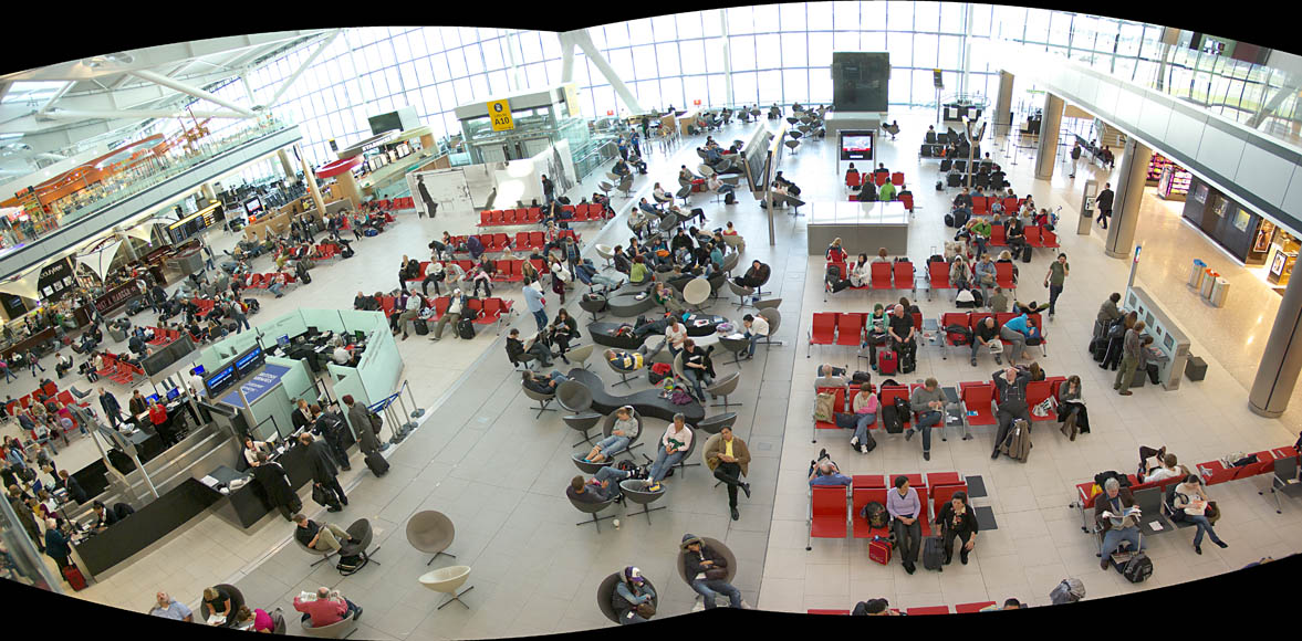 Heathrow  Airport -- Terminal 5