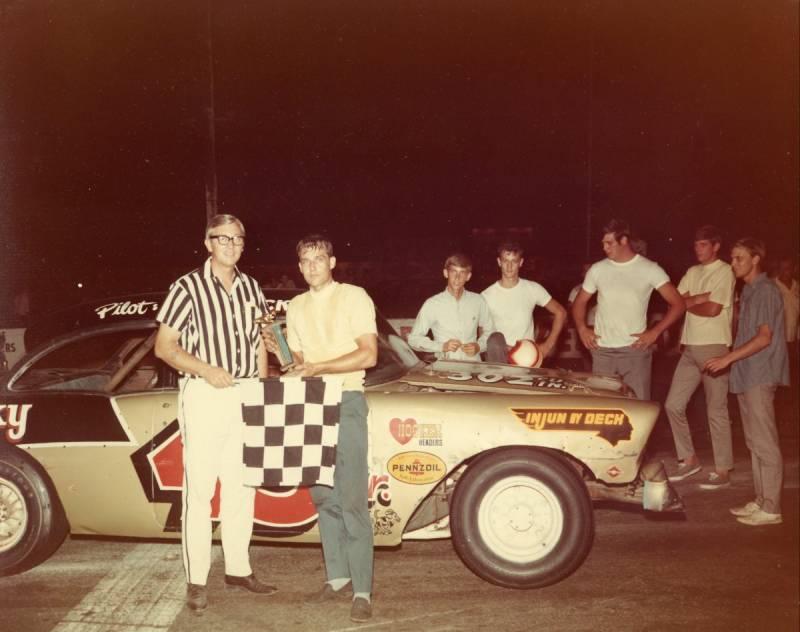 Otis Deck Jr 43 and Joe Carver