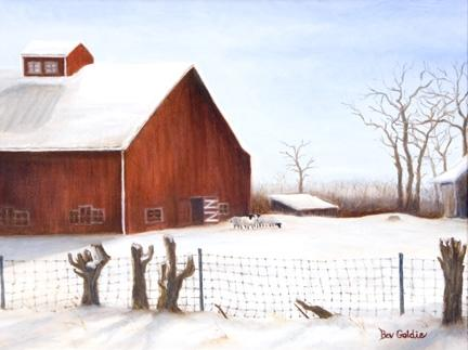 A Currier and Ives Scene in Powell