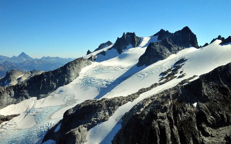 Lynch Glacier on Mt Daniel