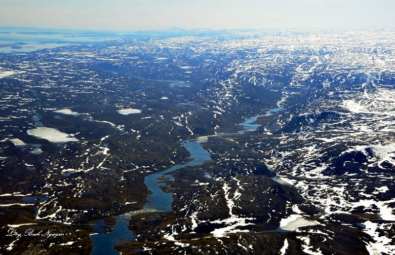 Armshow River Baffin Island, Canada