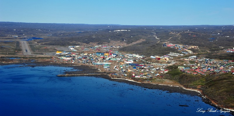 City of Iqaluit and Airport, Nunavut,Canada