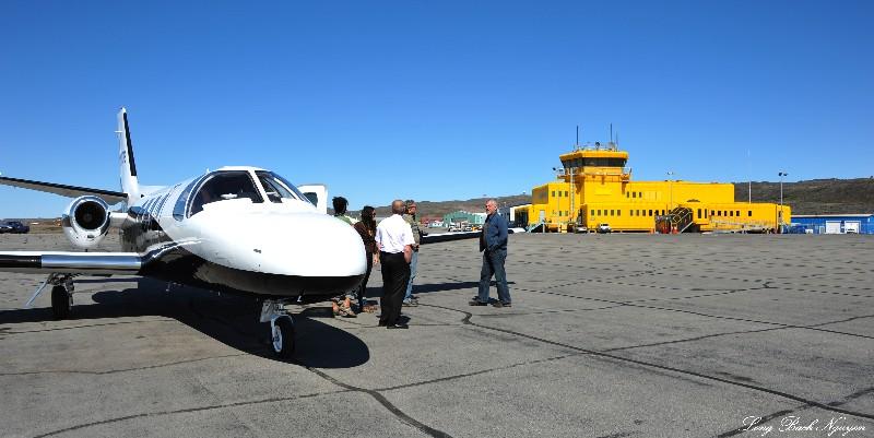 CYFB Iqaluit Airport and Terminal,Nunavut,Canada