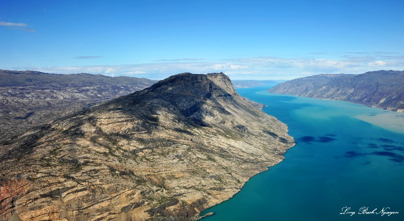 Sondrestrom Fjord landscape Greenland